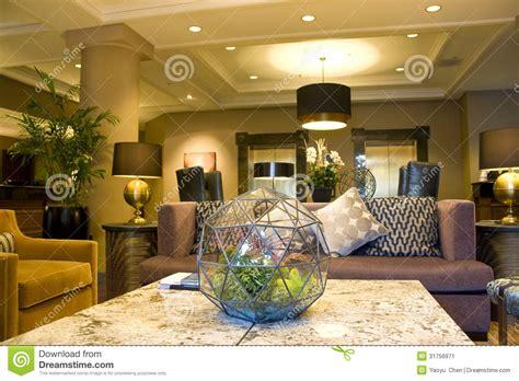 cozylila luxury pillow hotel modern luxury cozy hotel lobby stock image image 31756971