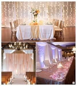 decoration salle mariage cacher un mur