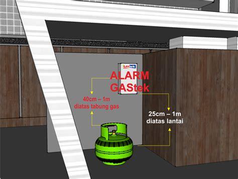Alarm Detector Kebocoran Gas rieluviashop alarm detektor kebocoran gas lpg lng