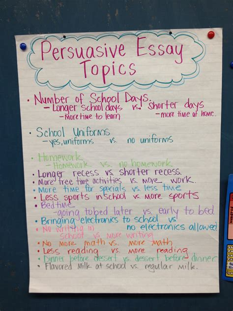 6th Grade Persuasive Essay Topics by Persuasive Essay Topics School Daze Essay Topics Persuasive Essays And Language