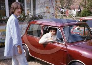 new beatles car unseen pictures of the beatles on the day paul mccartney