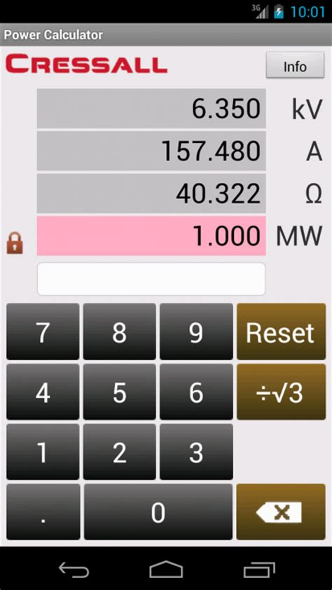 ohm s resistor calculator ohm s power calculator android apps on play