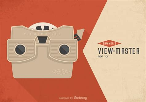 Free Vintage Viewmaster Vector Poster Download Free Vector Art Stock Graphics Images View Master Reel Template