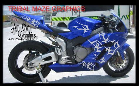 design motorbike graphics custom motorcycle tibal graphics decal kit