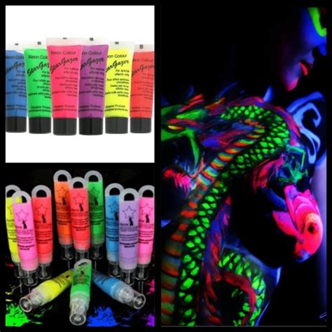 glow in the liquid paint glow in the paint painting ideas