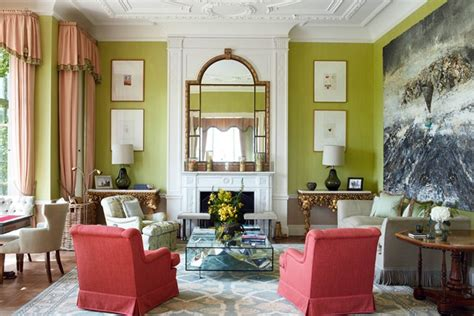 Green Living Room Paint Uk Country House Style Green Paint Living Room Ideas