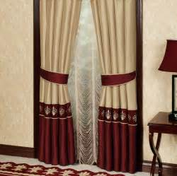Burgundy and gold curtains best curtains design 2016