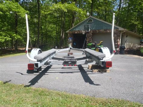 boat trailer bow assist guides escort boat trailer for 19 21 lower price classifieds