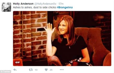 Angelina Jolie Meme - brangelina divorce gives explosion of jennifer aniston