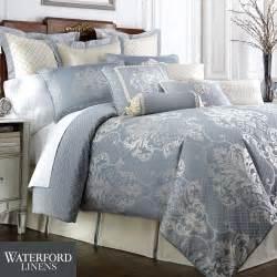 blue bedding newbridge slate blue comforter bedding by waterford linens