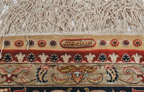 tappeto seta tappeto anatolico hereke in seta xx secolo tappeti