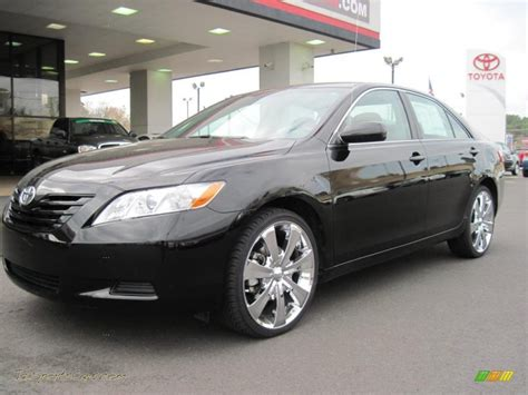 Black Toyota Camry 2009 2009 Toyota Camry Le In Black 050464 Jax Sports Cars