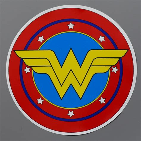 One Floor House original wonder woman logo image mag