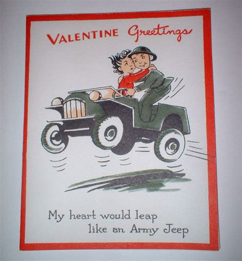 christmas jeep card valentine greeting jeep card ewillys