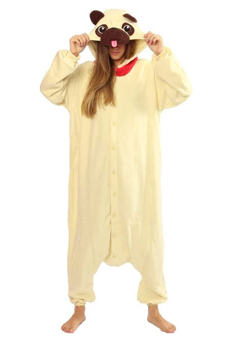 pug onesie for adults pug