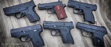 single stack 9mm pistol comparison 9mm concealed carry pistols comparison