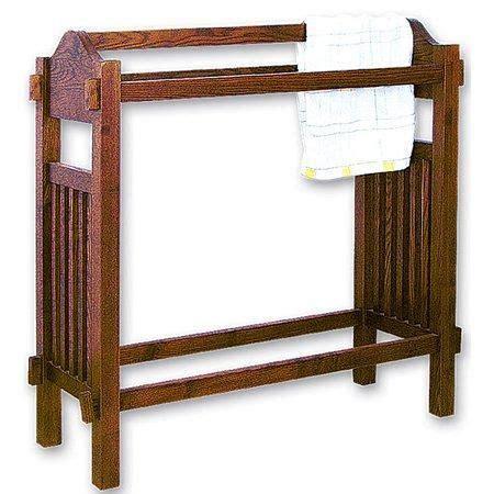 mission oak quilt rack stand orientalfurniture