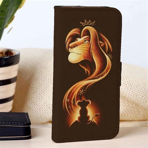 Casing Oneplus 2 Disney Wallpapers Custom Hardcase simba the king disney custom wallet for iphone 4 4s 5 5s 5c 6 6plus