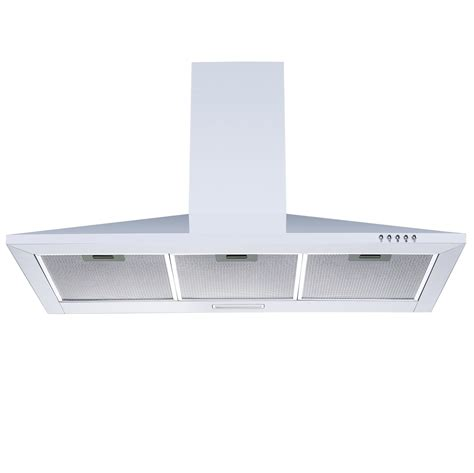 Kitchen Extractor Fan Into Chimney Cookology Ch900wh White Chimney Cooker 90cm Kitchen