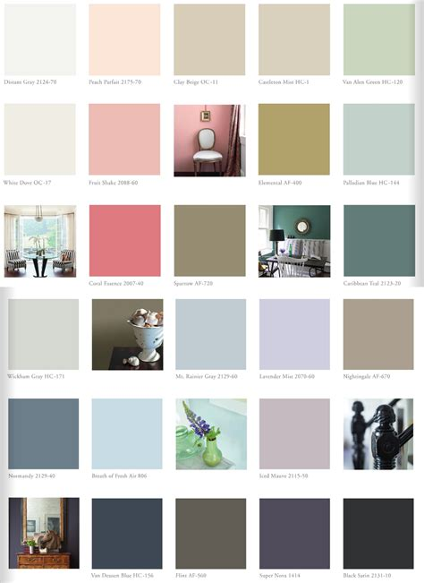 most popular paint colors 2014 benjamin collection