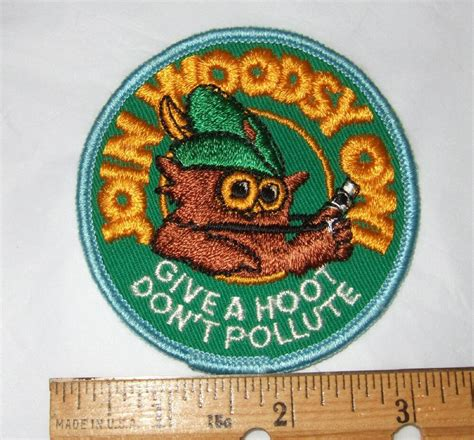 Vintage Owl Patches by Vintage 70 S Woodsy Owl Patch By Vintagehillbillies On Etsy