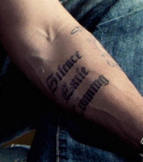 lettere gotiche da stare d 233 couvrez les tatouages de en images