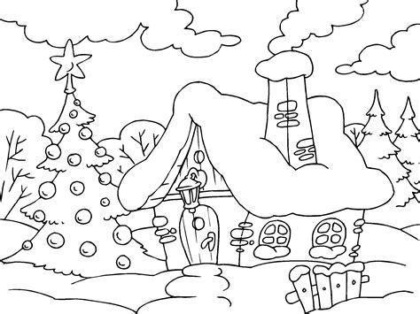 imagenes de navidad para colorear de animales imagenes para colorear para navidad casa estrellas para
