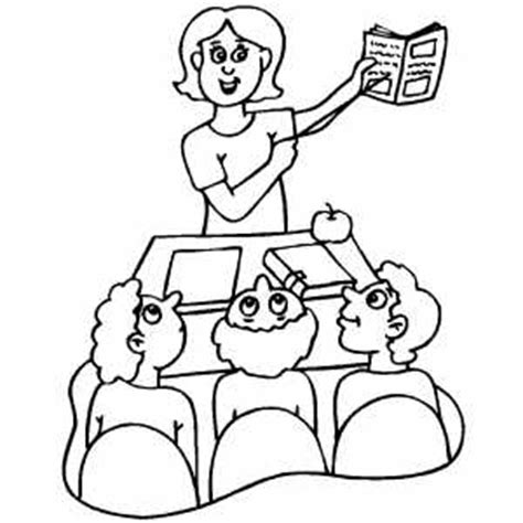 Teacher And Student Coloring Sheet Coloring Pages Coloring Pages Students