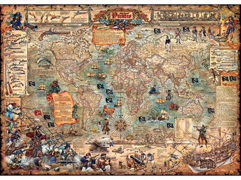 Pirate World 3000 Piece Heye Jigsaw Puzzle PUZZLE PALACE