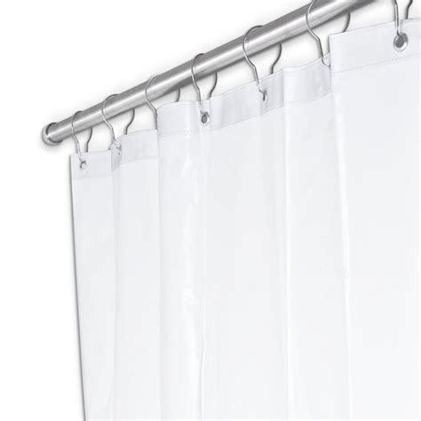 shower curtain 42 x 72 ajw ux250w 4272 shower curtain 42 quot w x 72 quot h white duck