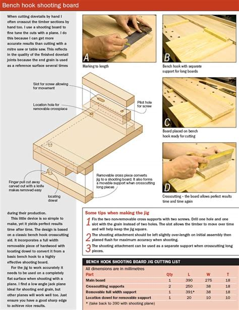bench hook plans beginner ideas more woodworking bench hook