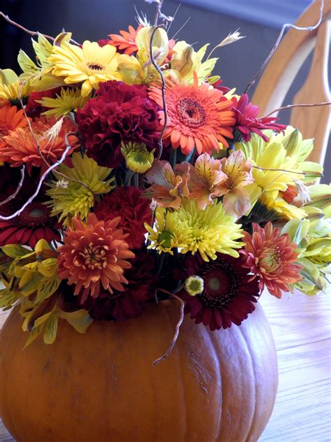 fall flowers the flower girl blog fall flowers and a pumpkin