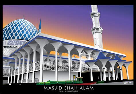 wallpaper shah alam masjid shah alam by bem69 on deviantart