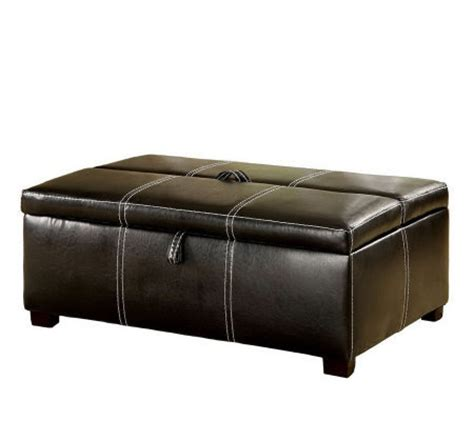 pull out twin bed ottoman apolline ottoman with pull out bed qvc com