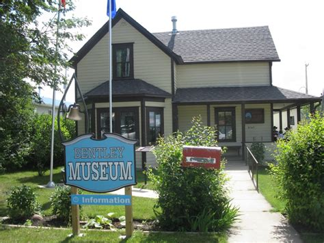 town of bentley town of bentley lacombe tourism