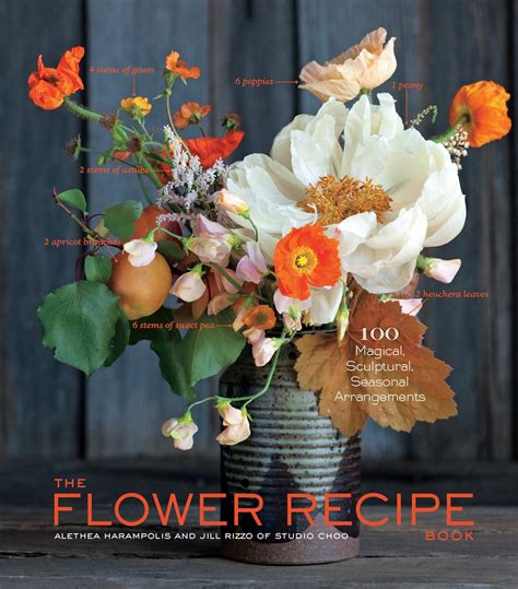 the arrangement a novel books jacket the flower recipe book