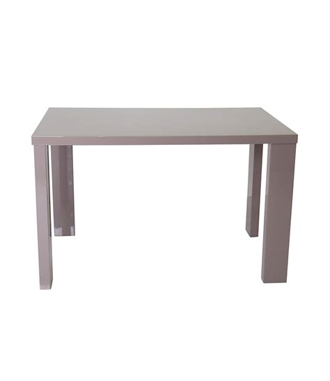 Gloss Dining Table Miami Mink Grey High Gloss Dining Table Manchester Furniture Supplies