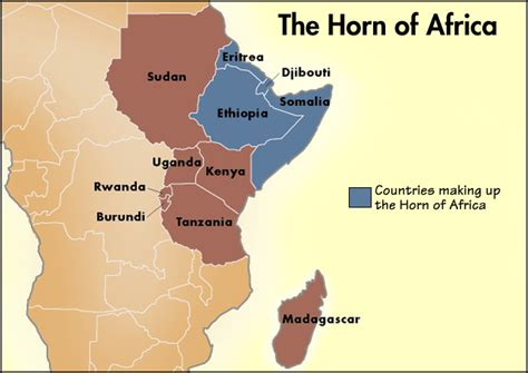 horn of africa map somalia new terrorist jahba east africa challenges