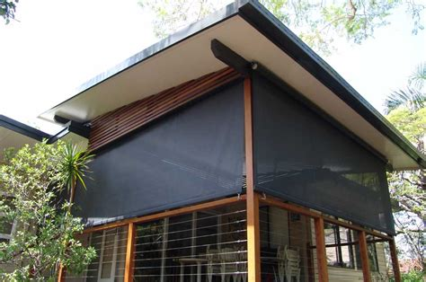 Vertical Awnings by Sunshade Solutions Sunrooms Plus