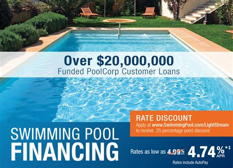 swimming pool financing professional pool spa