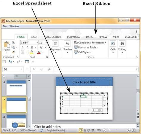 format excel table in powerpoint add format tables powerpoint 2010