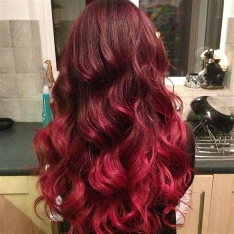 red ombre hair 65 best images about red burgundy ombre hair styles