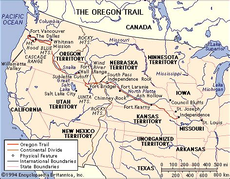 map of oregon trail coolkidlit 4 socialstudies if you traveled west in a