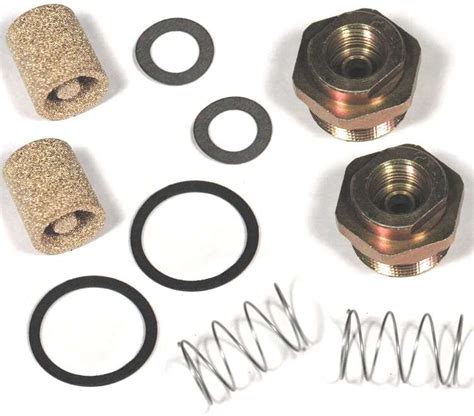65 67 Corvette Fuel Inlet Fitting Kit Holley For 3124