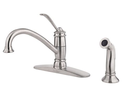 shop pfister brookwood tuscan bronze 1 handle high arc pfister f0344als kitchen faucet 1 handle high arc