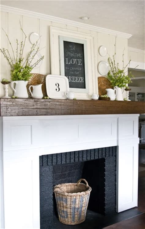 The Lettered Cottage Fireplace Makeover by Faux Fireplaces Yay Or Nay