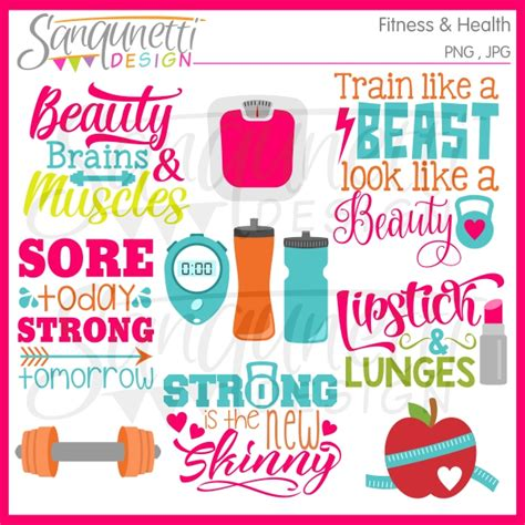 fitness clipart sanqunetti design fitness and workout clipart
