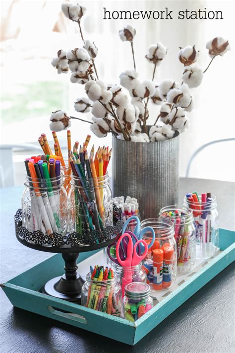 homework station back to school diy homework stations that will make your