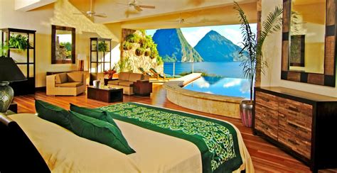 most romantic bedrooms in the world top 5 most romantic caribbean honeymoon suites huffpost