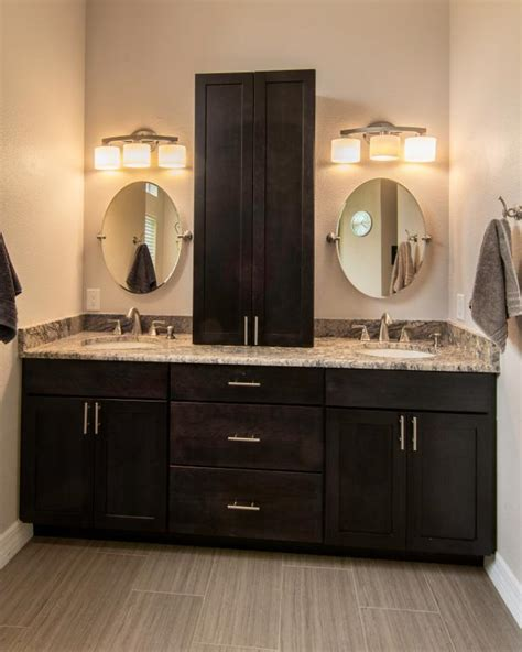 contemporary master bathroom double sink vanity